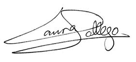 Firma de Laura Gallego